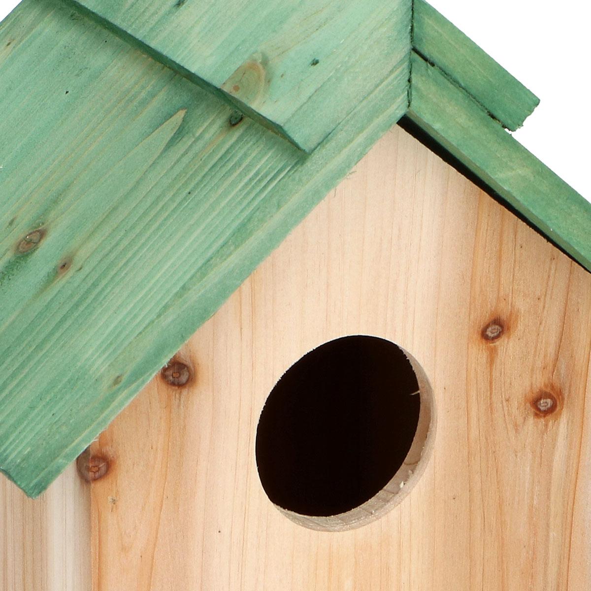 Nistkasten XL Vogelhaus Vogelhäuschen Meisenkasten Nisthaus Vogelnistkasten Holz