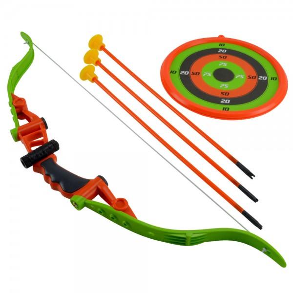 Pfeil und Bogen Set Kinder Kinderbogen-Set Bogenschießen Flitzebogen Spielzeug