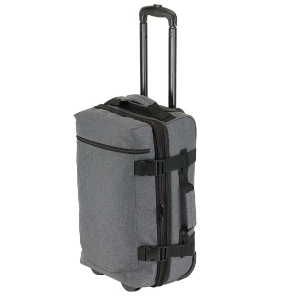 Trolley-Tasche Reisetasche Reisetrolley Koffer Reise-Koffer Business grau