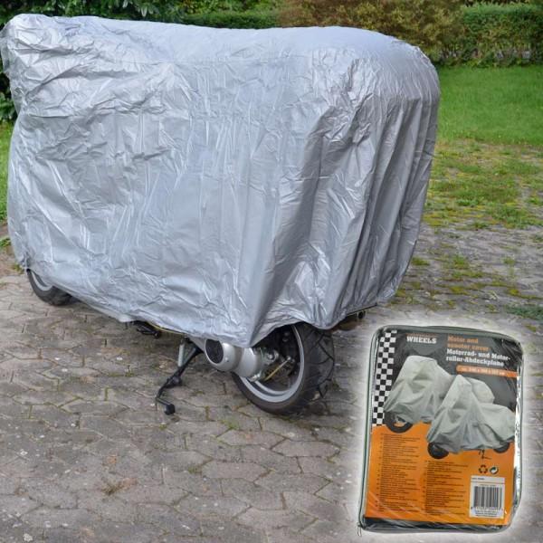 Motorrad Abdeckplane Motorradplane Ganz-Garage Schutzhülle Roller-Abdeckung