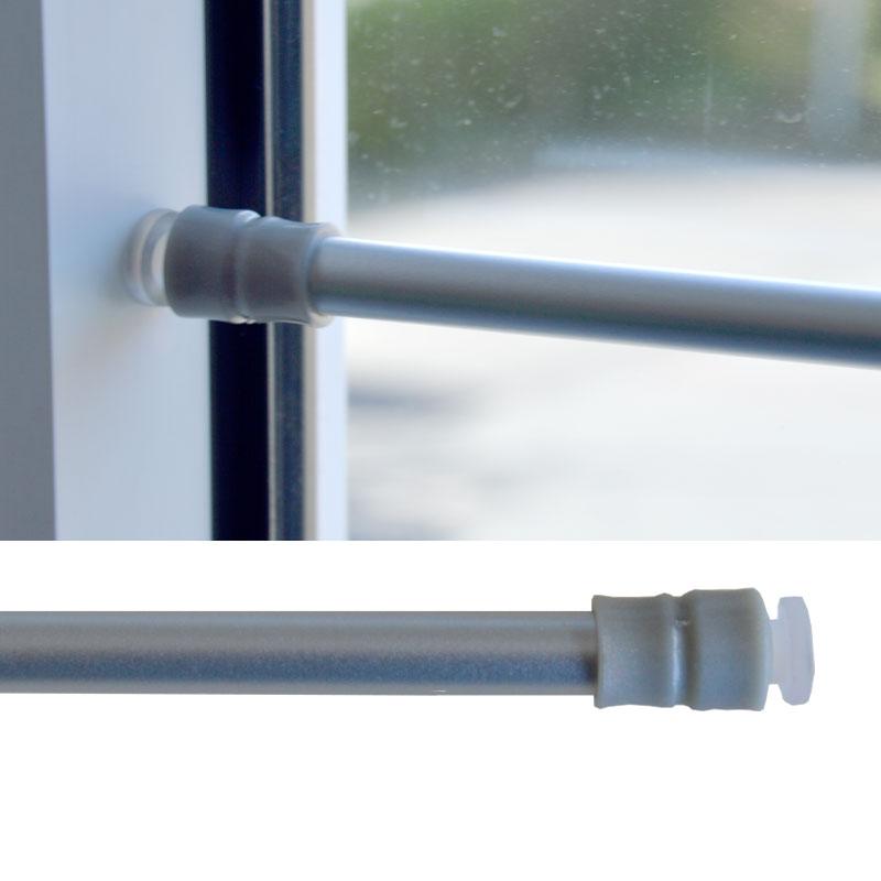 Gardinen-Klemmstange Gardinenstange Scheibenstange ohne bohren Teleskop  Fenster