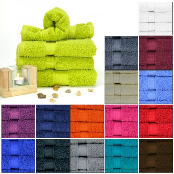 Gästetuch Handtuch Duschtuch Badetuch Müskaan 100% Baumwolle 500g/m² Frottee NEU