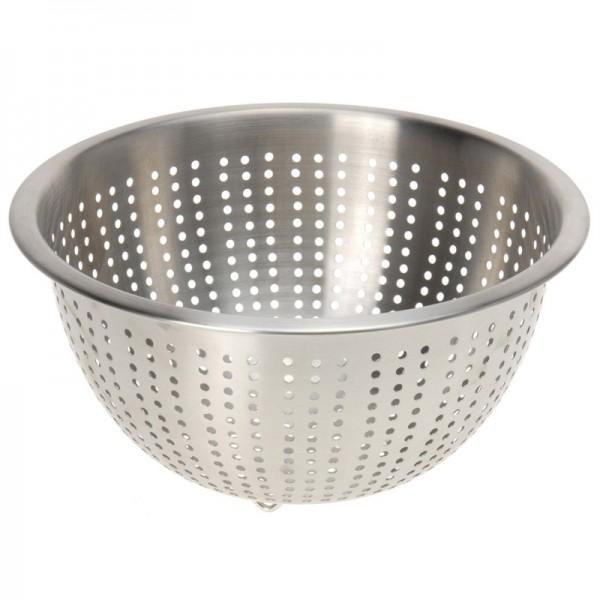 Küchensieb Edelstahl Sieb Dampfeinsatz Seiher Salat-Sieb Durchschlag Abtropfsieb