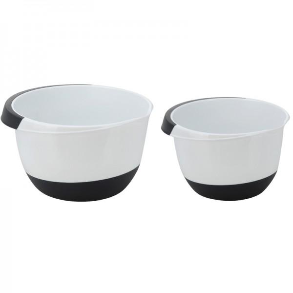 Rührschüssel-Set 3,5L u. 2L Teigschüssel Backschüssel Salatschüssel Kochschüssel