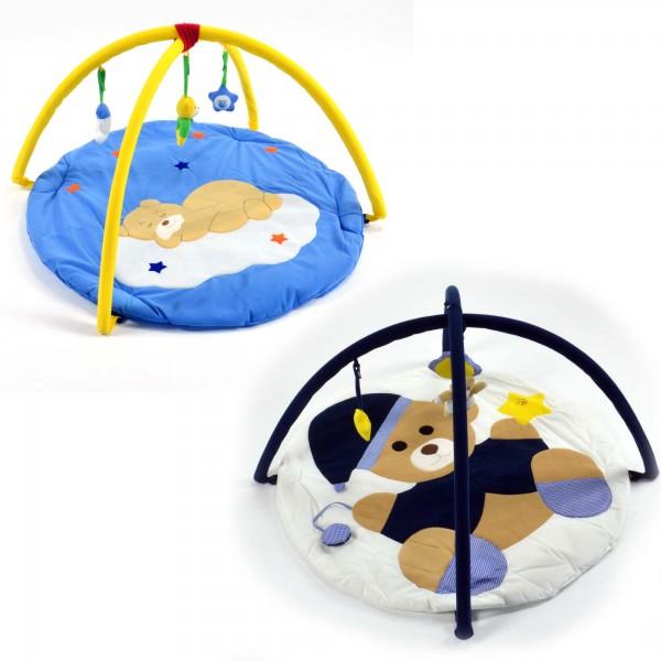 Krabbeldecke Spielbogen Baby-Spieldecke Erlebnisdecke Spielteppich Spielmatte