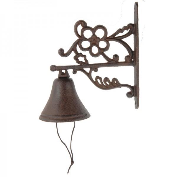Türglocke Gusseisen Eisen-Glocke Türklingel Antik Landhaus-Stil versch. Modelle