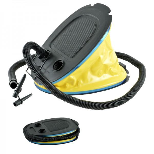 Blasebalk Fuß-Pumpe Luftpumpe Tretpumpe Fußluftpumpe Luftmatratze Boot 5 Liter
