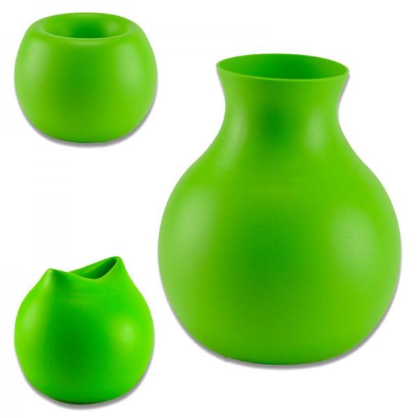Menu Designer Gummi-Vase Silikon-Plastikvase Blumenvase Tischvase Menü Design