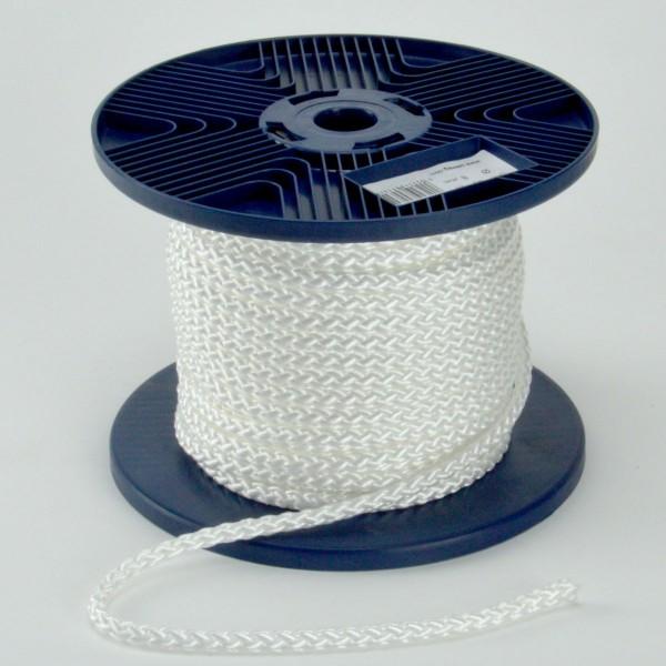 Pewag Polypropylen-Seil 40m Schnur Flechtleine Tau Tauwerk PP weiß