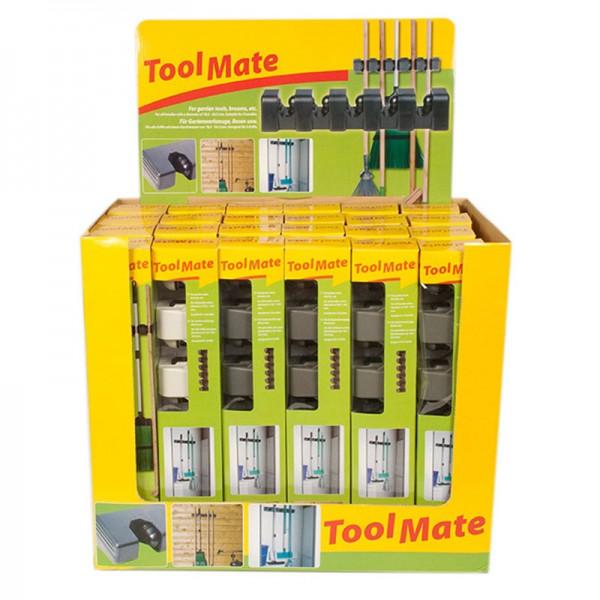 Garten-Gerätehalter Geräteleiste Werkzeughalter Wandhalterung Besenhalter