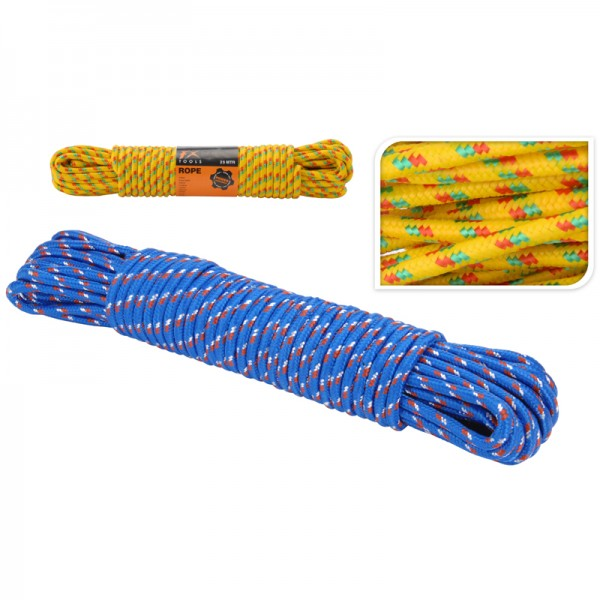 Polypropylen Seil 25m Tau Kunststoffseil 10mm PP-Seil Leine Festmacher robust