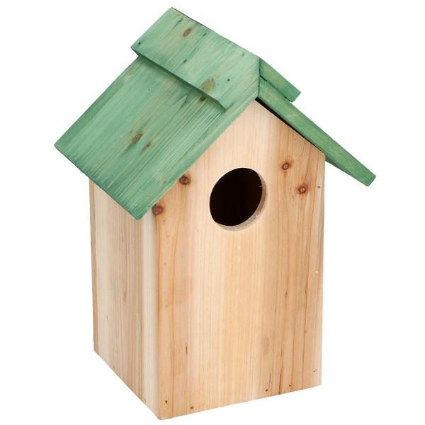 Vogel-Nistkasten Nisthöhle Nisthaus Vogelhaus Vogelhäuschen Meisenkasten Vögel