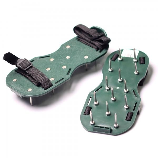 Rasenbelüfter-Sandalen Nagelschuhe Rasenlüfter-Schuh Vertikutierer Estrichschuhe