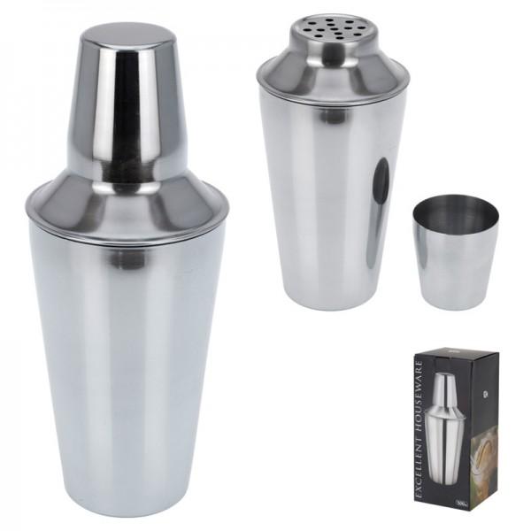 Cocktailshaker Cocktail-Shaker Milchshaker Barmixer Bar-Keeper Edelstahl 500ml