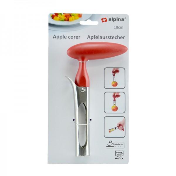 Alpina Apfel-Ausstecher Apfel-Entkerner Apfelstecher Fruchtentkerner Kerngehäuse