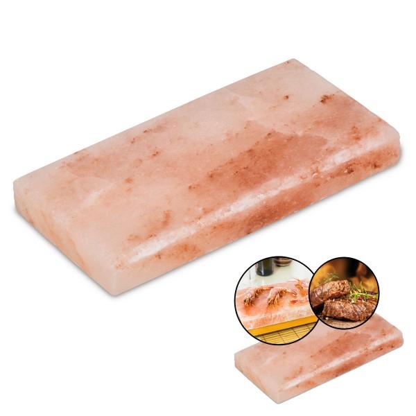 Flash BBQ-Salzstein Grill Salzplatte heißer Stein Aromaplanke Steak Fisch Halter