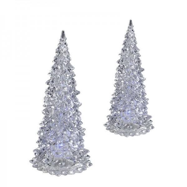 LED Weihnachtsbaum Acryl-Tannenbaum Christbaum Weihnachten Farbwechsel Fenster