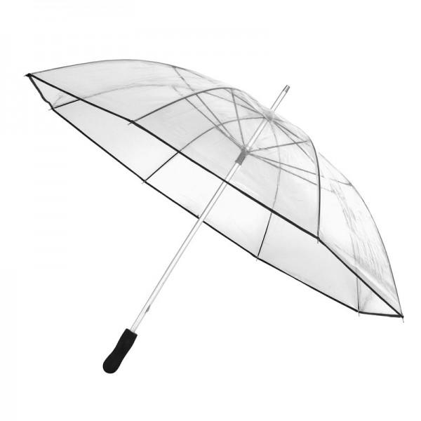 Regenschirm transparent Stockschirm Partnerschirm Golfschirm Schirm Hochzeit XXL