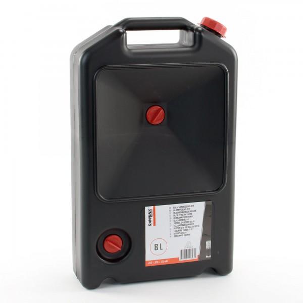 RAWLINK Ölauffangkanister Ölwechsel-Kanister Öl-Wanne Auffangwanne 8 Liter