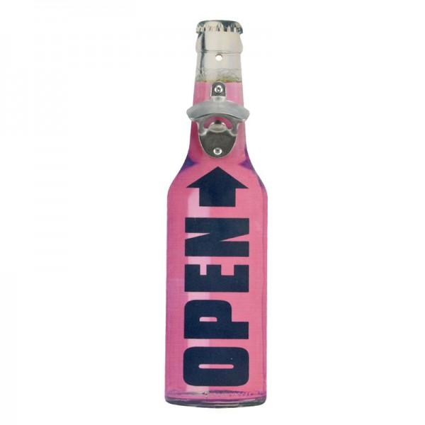 Flaschenöffner OPEN Wandflaschenöffner Bieröffner Bottle Öffner Bier-Flasche