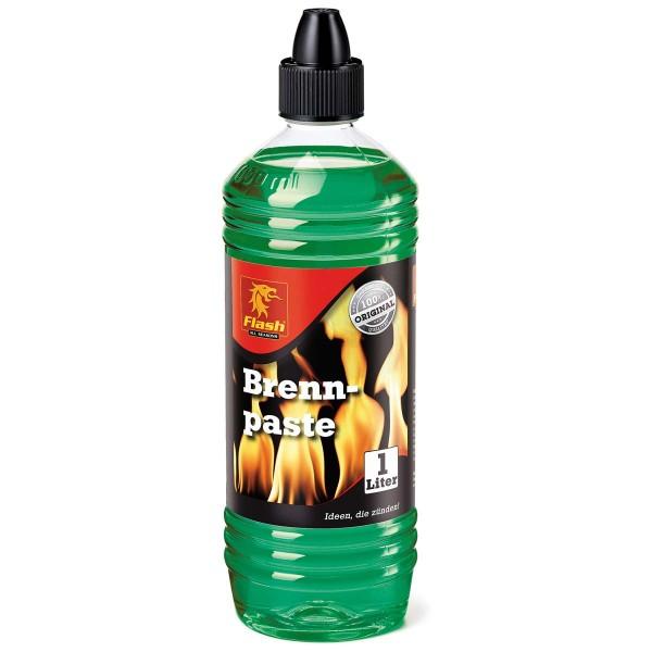 Flash Brennpaste 1L Brenngel Anzündpaste Gel-Kamin Fondue Bio-Ethanol Tischfeuer
