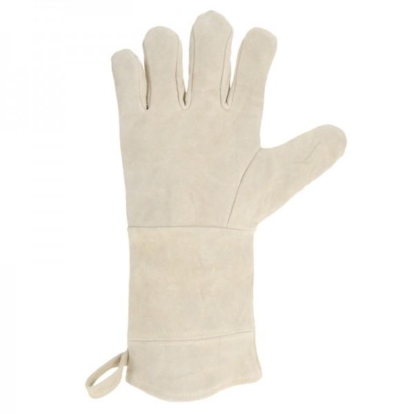 Grillhandschuh Kaminhandschuh Backofenhandschuh Ofen-Handschuh Schutz Leder