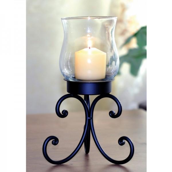 Tisch-Kerzenständer Kerzenhalter Teelichthalter Windlicht Kerzenleuchter Metall