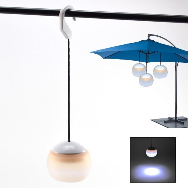 LED-Hängelampe Gartenlampe Camping Zelt-Lampe Laterne Lampion Garten flexibel