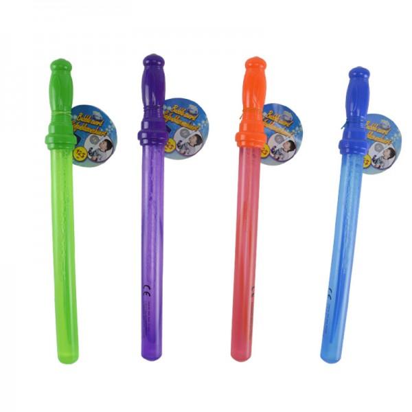 4er Set Seifenblasen-Schwert XXL-Seifenblasen Flüssigkeit Stab 39cm