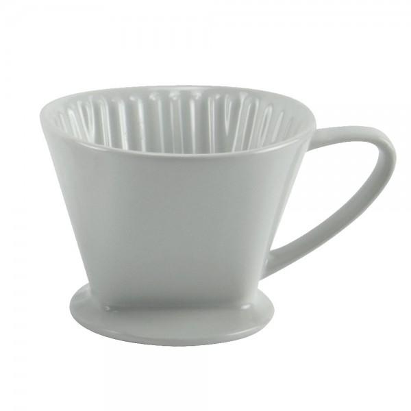 Kaffeefilter Porzellan Dauerfilter Kaffee-Bereiter Filtertüte Gr.1, 2 oder 4
