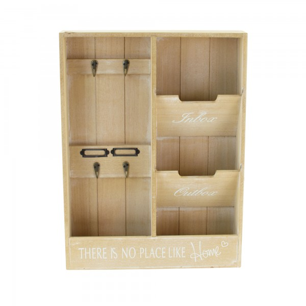 Wandorganizer Schlüsselbrett Schlüsselkasten Schlüssel-Board Schrank Holz Shabby