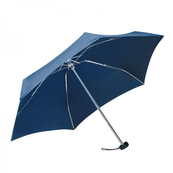 Mini-Taschenschirm im Etui Regenschirm super klein leicht Reise-Schirm