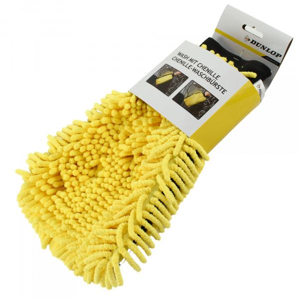 Dunlop Mikrofaser Chenille-Waschhandschuh Reinigungshandschuh Autopflege Schwamm